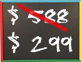 Black Friday Schoolboard pricing