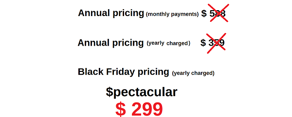Spectacular Black Friday Offer Wealthy Affiliate