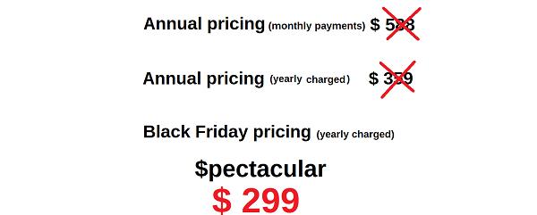 Spectacular Black Friday Offer Wealthy Affiliate